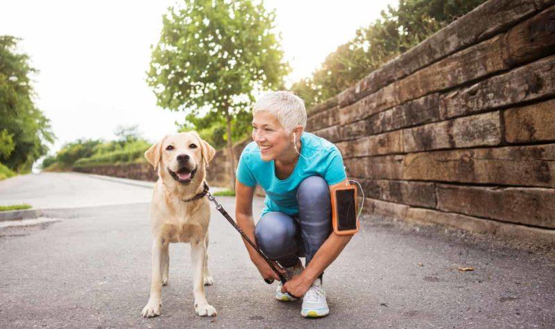 woman-active-55-walking-dog